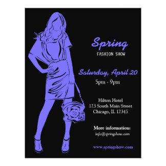 Fashion Show (Light Slate Blue) Full Color Flyer
