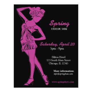 Fashion Show (Plum) Flyer