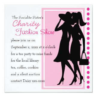 Fashion Silhouettes Card