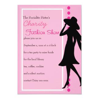 Fashion designer dresses invitations announcements zazzle canada fashion silhouettes card stopboris Choice Image