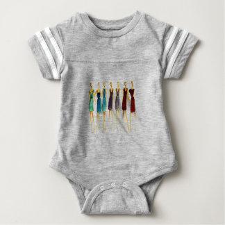 Fashion sketch baby bodysuit