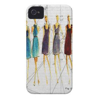 Fashion sketch Case-Mate iPhone 4 case
