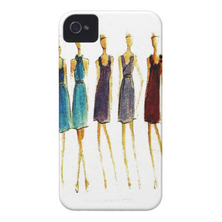 Fashion sketch Case-Mate iPhone 4 cases