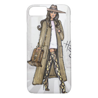 Fashion sketch. iPhone 8/7 case