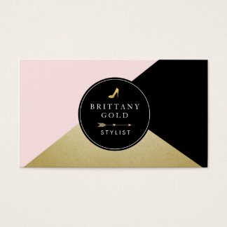 Fashion Stylist Blogger Business Card Glam