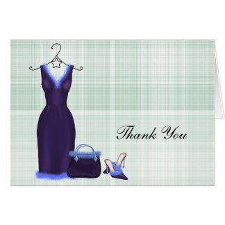 Fashion Thank You (Purple) Card