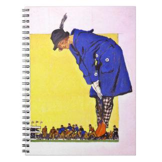 Fashion Versus Football 1900 Notebooks