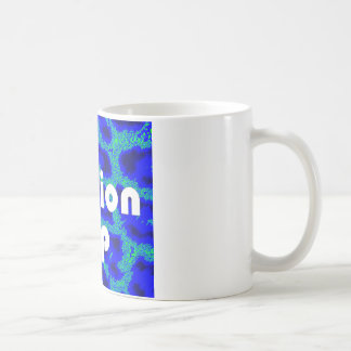 Fashion VIP on Blue Leopard Background Mug