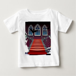 Fashion Zombie Couple near Stairs Baby T-Shirt