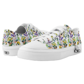 Fashionable chic painted  eyes Low-Top sneakers