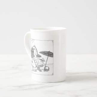 Fashionable Dragons Tea Cup