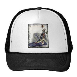 FASHIONABLE LADIES VINTAGE 60 TRUCKER HAT