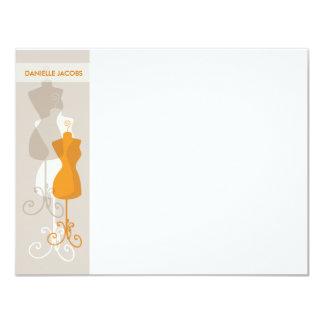 Fashionista Notecard Stationery