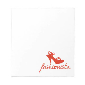 Fashionista Notepad