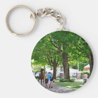 Fasig Tipton Yearling Sales Basic Round Button Keychain