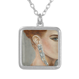 Fasion Woman,Jewllery,Makeup. Silver Plated Necklace