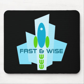 fast and wise mouse pad