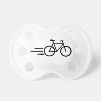 Fast bicycle pacifier