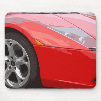 FAST CAR 17 (mouse-pad) Mouse Pad