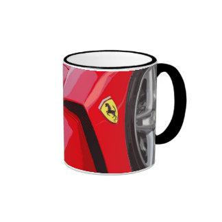 FAST CAR 6 (mug) Ringer Coffee Mug