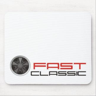 Fast classic car: Fuchs racing car wheel Mouse Pad