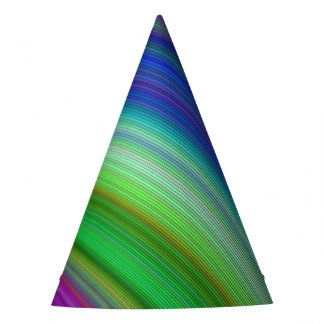 Fast colors party hat