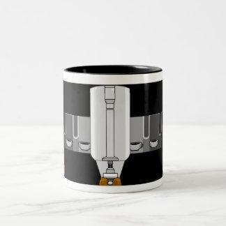 Fast Draw Coffee Two-Tone Coffee Mug