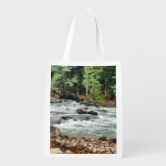 Fast flowing Lidder Reusable Grocery Bag