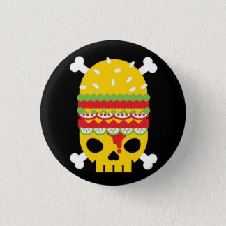 Fast Food 1 Inch Round Button