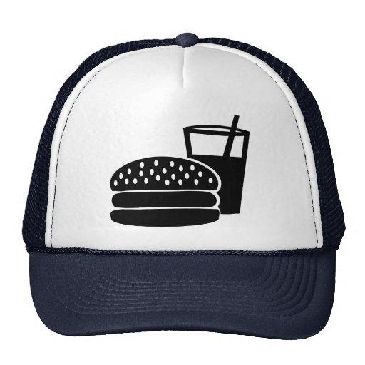 Fast food - Burger Trucker Hats