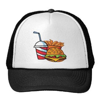 Fast Food Cheeseburger Trucker Hat