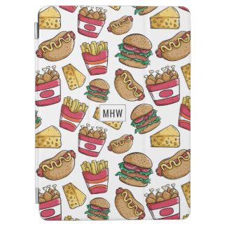 Fast Food custom monogram device covers iPad Air Cover