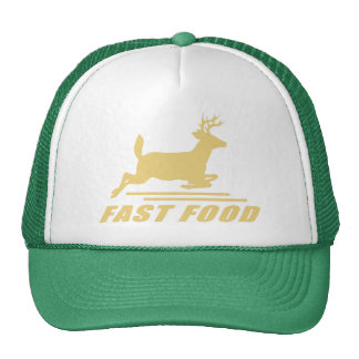 Fast Food Deer Trucker Hats