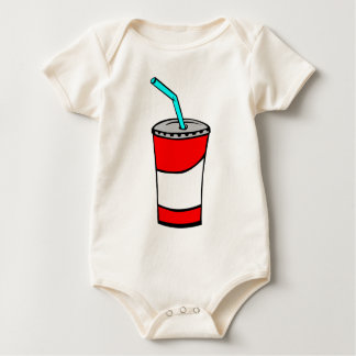 Fast Food Drink Baby Bodysuit