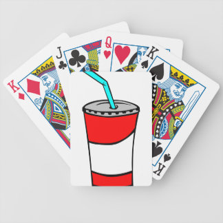 Fast Food Drink Bicycle Playing Cards
