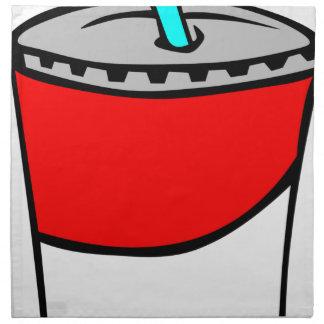 Fast Food Drink Napkin