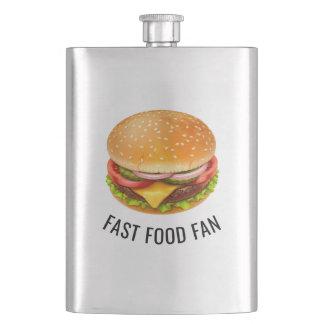 Fast Food Fan Classic Flask