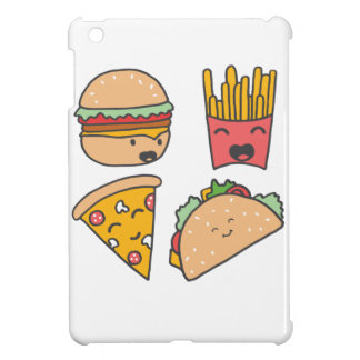 fast food friends iPad mini cover