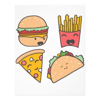fast food friends letterhead
