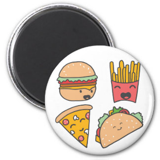 fast food friends magnet