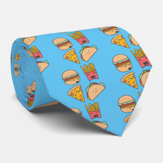 fast food friends tie