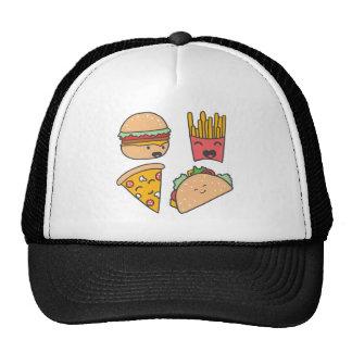 fast food friends trucker hat