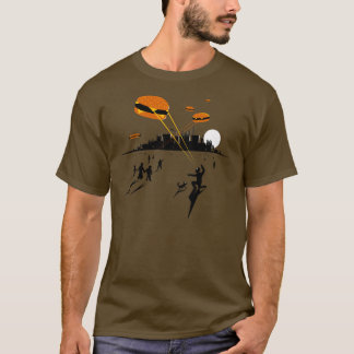 Fast Food Invasion T-shirt