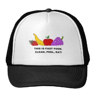 FAST FOOD jpg Trucker Hats