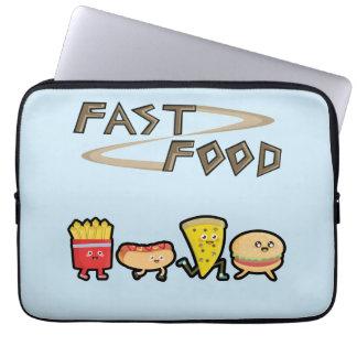 Fast Food Laptop Sleeves