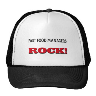 Fast Food Managers Rock Trucker Hat