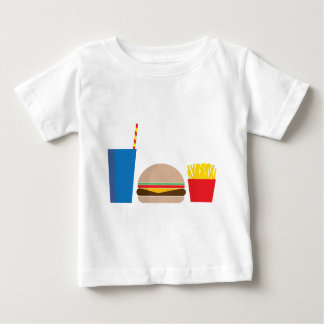 fast food meal baby T-Shirt