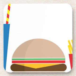 fast food meal coaster
