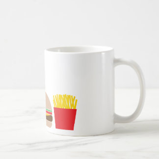 fast food meal coffee mug