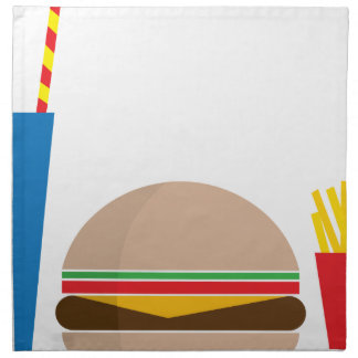 fast food meal napkin